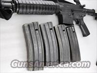 Colt AR-15 Magazines 30 Shot Gray Steel Black Follower Kansas mfg GI 1980s Pre Ban AR15 223 caliber  Non-Guns > Magazines & Clips > Rifle Magazines > AR-15 Type