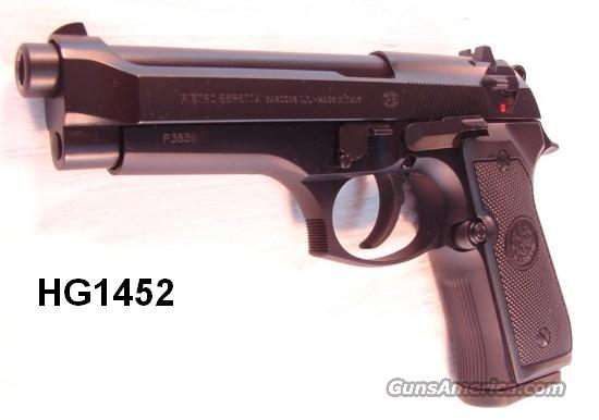 Beretta 92FS 9mm Near Mint in Box  Guns > Pistols > Bersa Pistols