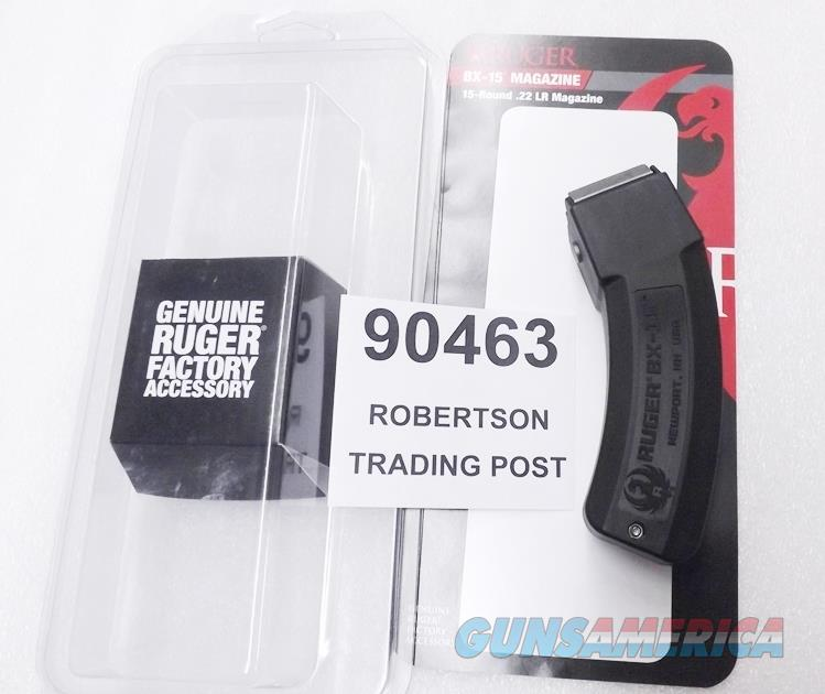 Ruger 10/22 Rifle or Charger Pistol Magazine 15 Round .22 LR BX15 90463 15 shot Buy 3 Ships Free!  Non-Guns > Magazines & Clips > Rifle Magazines > 10/22