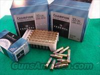 Ammo: .22 LR Federal Champion 40 gr 500 Brick  Non-Guns > Ammunition