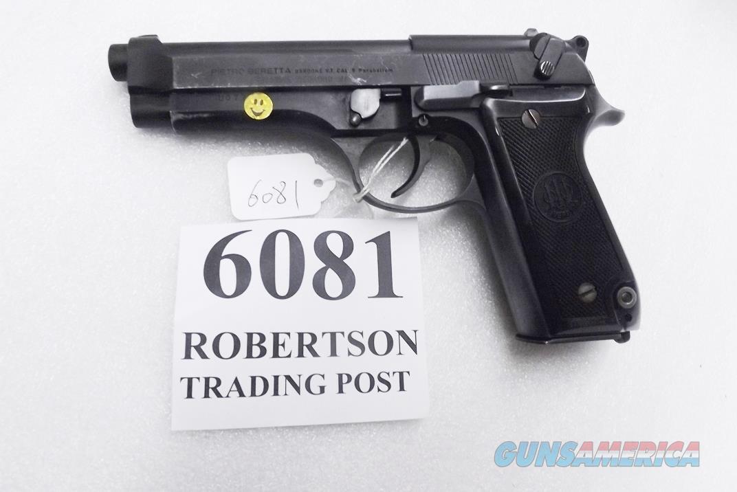 Beretta 9mm model 92S Italian Military Police JS92F300M type / ancestor c1978 Brunitron & Oxide Good 16 Round 1 Pre-Ban Magazine 7ROO  Guns > Pistols > Beretta Pistols > Model 92 Series