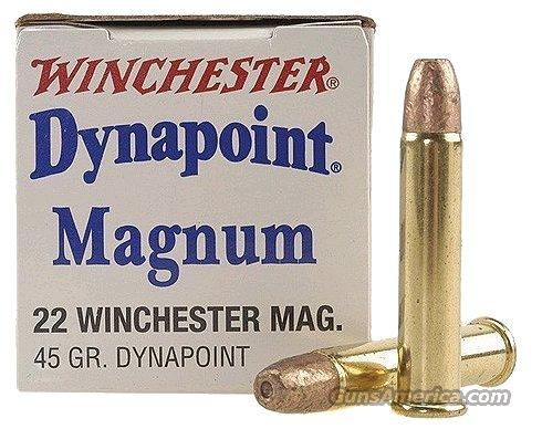 Ammo 22 magnum winchester hp 500 round 10 box lot for sale