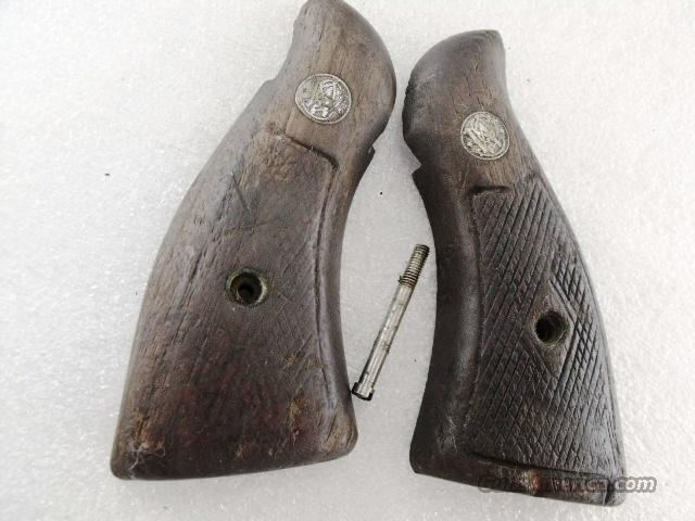 Smith & Wesson Grips K Square Magna Diamond Pre-1962 Walnut GR0612  Non-Guns > Gunstocks, Grips & Wood
