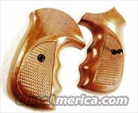 Grips Armscor 206 .38 Special Walnut Combat Finger Groove New  Non-Guns > Gun Parts > Grips > Other