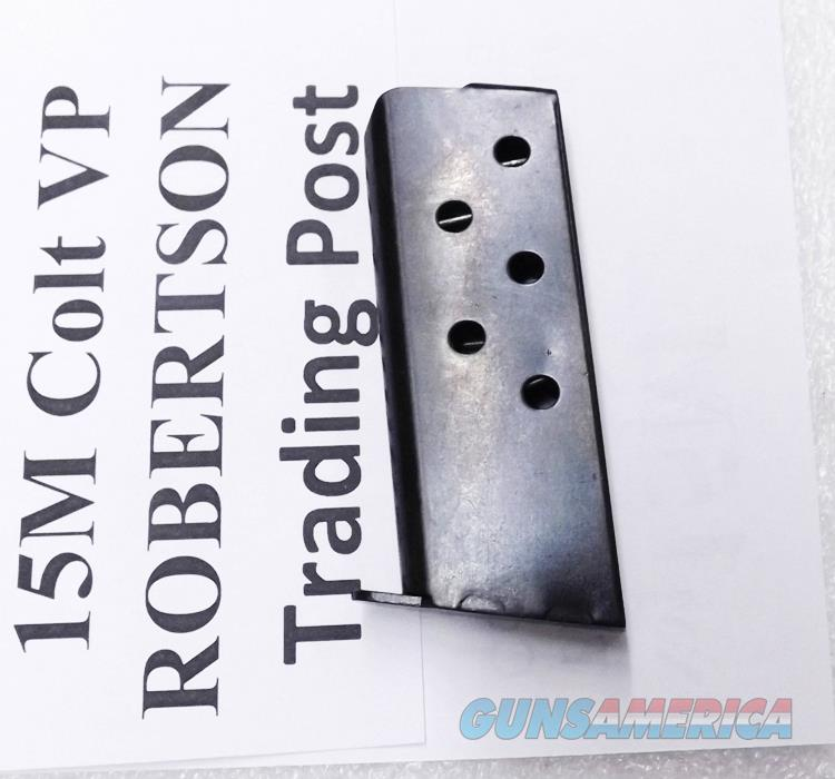 Triple K 6 round Magazine for Colt 1908 Vest Pocket .25 ACP Hammerless Pistols new blued steel 15M $3 ship, 3 ship free L 48  Non-Guns > Magazines & Clips > Pistol Magazines > Other