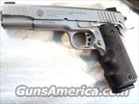 Taurus .45 PT1911 Stainless Near Mint w/Box, Papers, 3 Mags  Guns > Pistols > Taurus Pistols/Revolvers > Pistols > Steel Frame