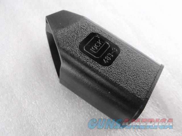 Glock Magazine Loading Tool Any 9mm 357 .40 Glock Unissued XM4833 Factory Glock fits models 17 19 23 24 26 27 31 32 33 35 no 20 no 21 no 29 no 36 no 37 no 38 no 39   Non-Guns > Magazines & Clips > Pistol Magazines > Glock