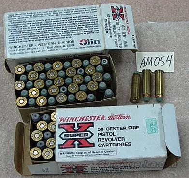 Ammo: Lot of 2 Boxes Winchester .41 Magnum 210 JHP Exc, ca. 1980  Non-Guns > Ammunition