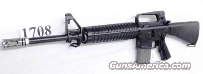 Armalite .223 M15A2 AR15 type 16 inch Cage A2 Buttstock Fresno County Sheriff ca. 2000 Production with 1 Magazine   Guns > Rifles > Armalite Rifles > Complete Rifles