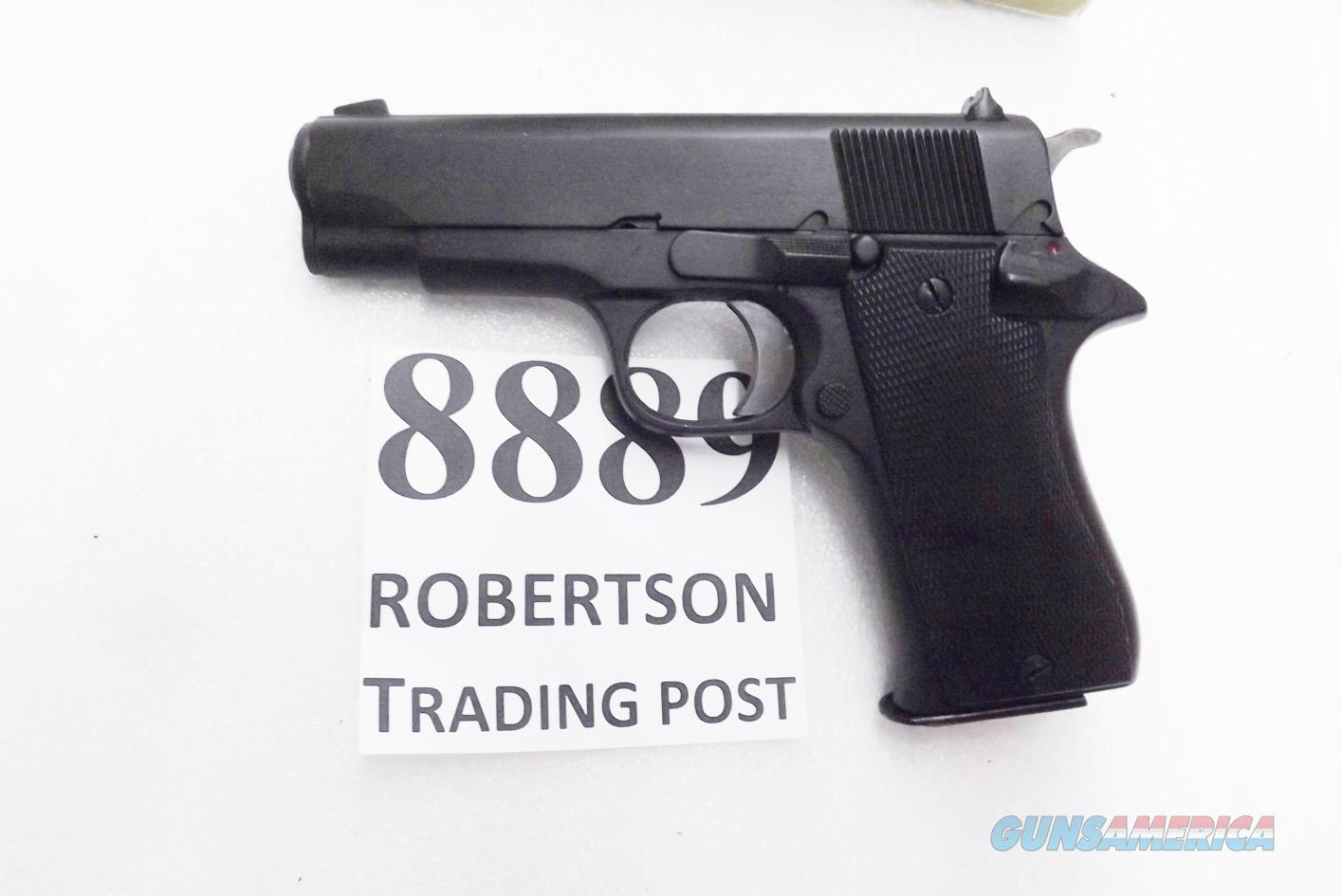 Star Spain 9mm Model BM 9 Compact Spanish Guardia 1977 Dura Coat Refinish VG-Exc 3 3/4 inch PD Size Colt Defender Ancestor Steel 9 Shot BM9 BM-9 Spain  Guns > Pistols > Star Pistols