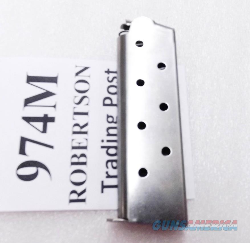 Colt 1911 Government .45 ACP Triple K 7 round Stainless Steel Magazines Colt SP572491 type 974M 45 Automatic Govt Model Pistols Armscor Kimber   Non-Guns > Magazines & Clips > Pistol Magazines > 1911