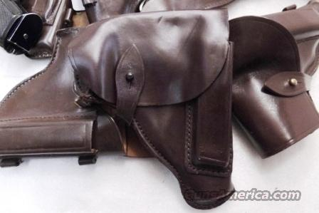 Walther PP Size Holster Russian Military & Police Brown Leather Flap Type for PM Makarov Pistol PPK PPKS CZ50 CZ70 Fits Many 32 380 and 9x18 Makarov Caliber Pistols  Non-Guns > Holsters and Gunleather > Military