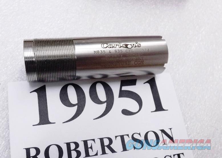 Mossberg 835 935 Accu Mag Choke Tube 12 gauge Carlsons 19951 Cylinder Bore .774 Stainless 3 Items Ship Free Accumag Accu-Mag New In Box   Non-Guns > Shotgun Sports > Chokes