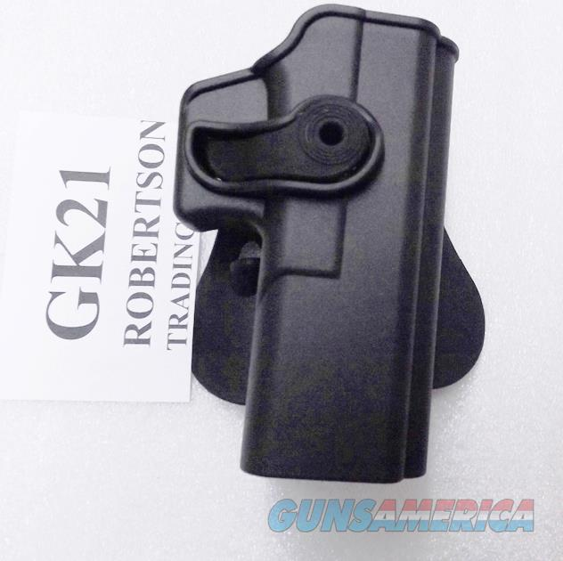 Itac Serpa type Holster fits Glock 20 21 S&W Square Trigger Guard 5900 6900 SW9 SD9  5903 5904 5906 469 669 6904 6906 6946 First type Only Sigma SW9 SD9VE SW9VE   Non-Guns > Holsters and Gunleather > Large Frame Auto