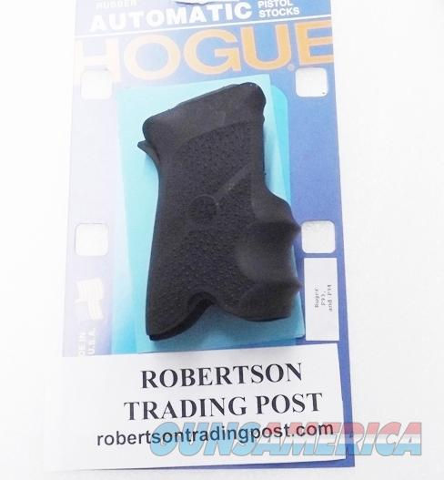 Ruger P93 P94 Hogue Combat Pistol Grips 94000 Finger Groove Combat Wrap Around New Unissued Old Stock   Non-Guns > Gun Parts > Grips > Other