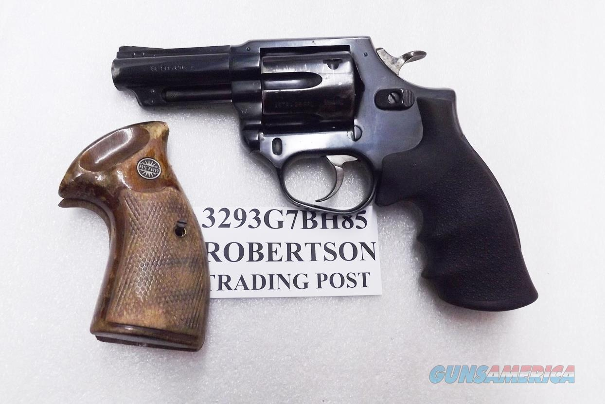 Astra Spain .38 Special Police model Large Frame Revolver 6 Shot 3 inch Blue Steel 2 Sets of Grips Good - VG 1985-86 Guernica Vitoria Basque Municipal Police Issue +P OK  Guns > Pistols > Astra Pistols