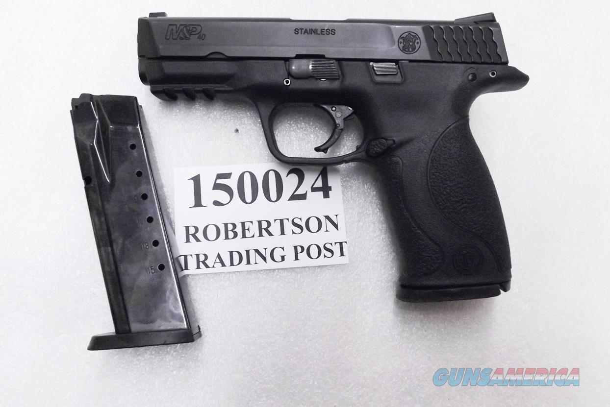 Smith & Wesson .40 M&P40 Magazine Safety 16 Shot 2 Magazines 40 S&W Caliber Exc North Carolina Dept of Safety M&P 40 150024 Excellent in Original Box 10214 ancestor  Guns > Pistols > Smith & Wesson Pistols - Autos > Polymer Frame
