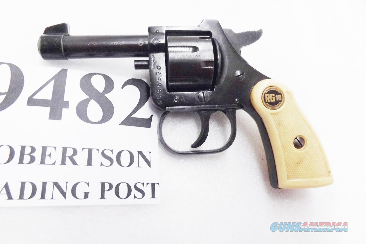 Rohm .22 Short model RG10 Revolver 1963 Production 2 7/8 inch 6 Shot Very Good Condition but No Ejector Rod Blue   Guns > Pistols > FIE Pistols