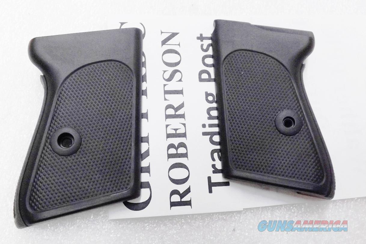 Dura Coat Finish Black Polymer replacement Grips for Walther PPK Pistols No Banner NO GO on PPK S Matte No Banner Screw Not Included   Non-Guns > Gun Parts > Grips > Other