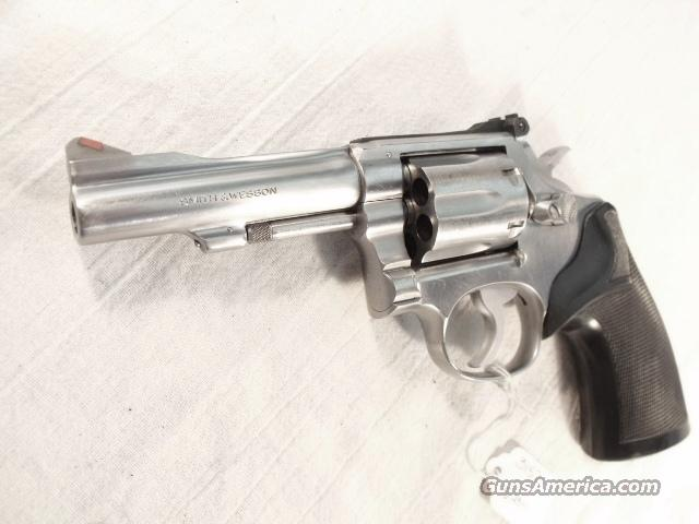 S&W .38 Special Model 67-1 K-38 Combat Masterpiece Stainless 4 inch VG 1981 Los Angeles County Sheriff's Department  Bangor Punta Pinned Barrel Smith & Wesson 38 Spl Adjustable Sights   Guns > Pistols > Smith & Wesson Revolvers > Full Frame Revolver