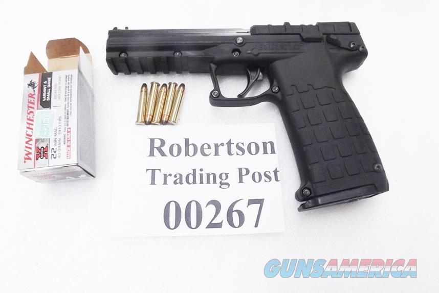 Kel-Tec .22 Magnum Automatic model PMR30 Black Polymer 4 inch Fiber Optic Sights NIB 2 Magazines 30+1 Capacity PMR-30 Keltec Kel tec 22 Winchester Magnum Caliber PMR30BBLK   Guns > Pistols > Kel-Tec Pistols > .223 Type