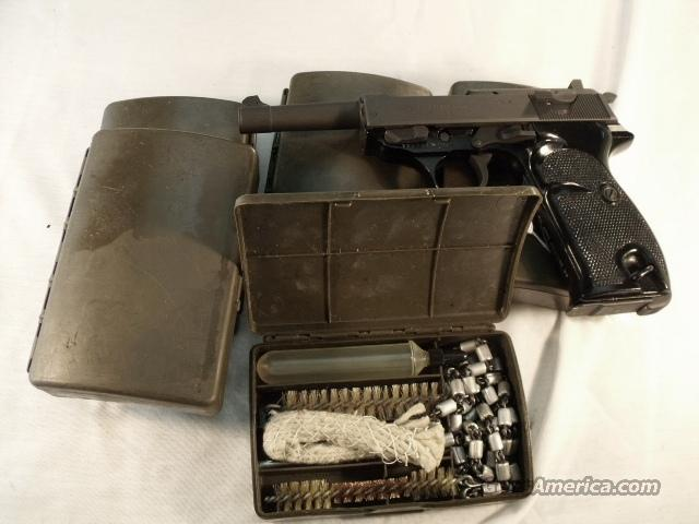 Walther German Army Police Cleaning Kit Excellent  Non-Guns > Gun Parts > Military - Foreign
