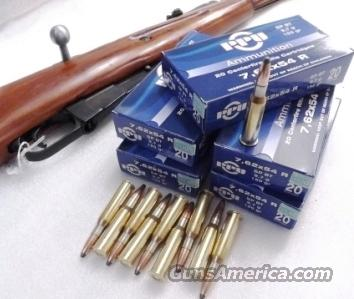 500 Rounds of Bulk 7.62x54r Ammo by Wolf - 200gr SP