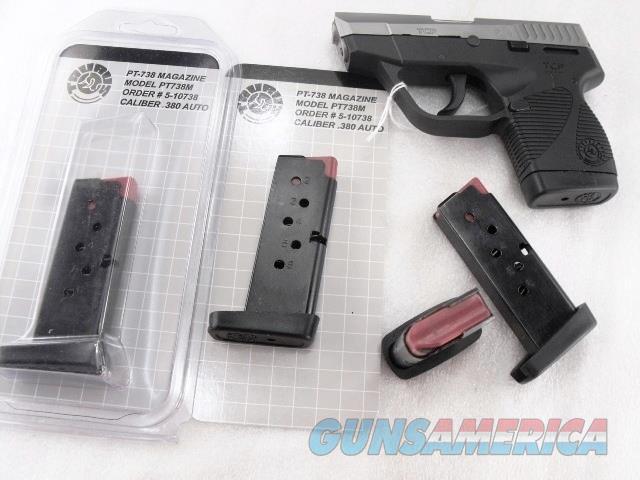 Taurus model PT738 .380 ACP Factory 6 Shot Magazine 510738 Blue Steel 380 Automatic 738  Non-Guns > Magazines & Clips > Pistol Magazines > Other