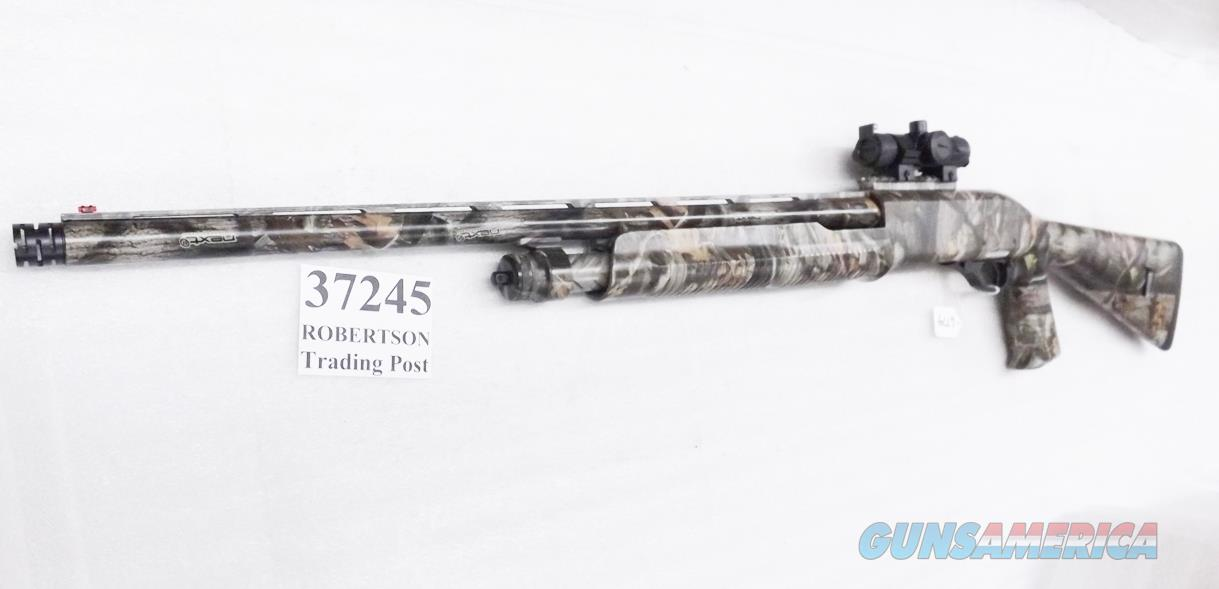 Charles Daly 12 gauge Model 335 Camo 3 1/2 inch Super Mag  Pump 24 inch Ported Barrel Pistol Grip Stock Red Green Dot Sight Picatinny & Rings, .668 XXF Super Full Rem-Choke Excellent in Box Possibly Unfired  Guns > Shotguns > Mossberg Shotguns > Autoloaders