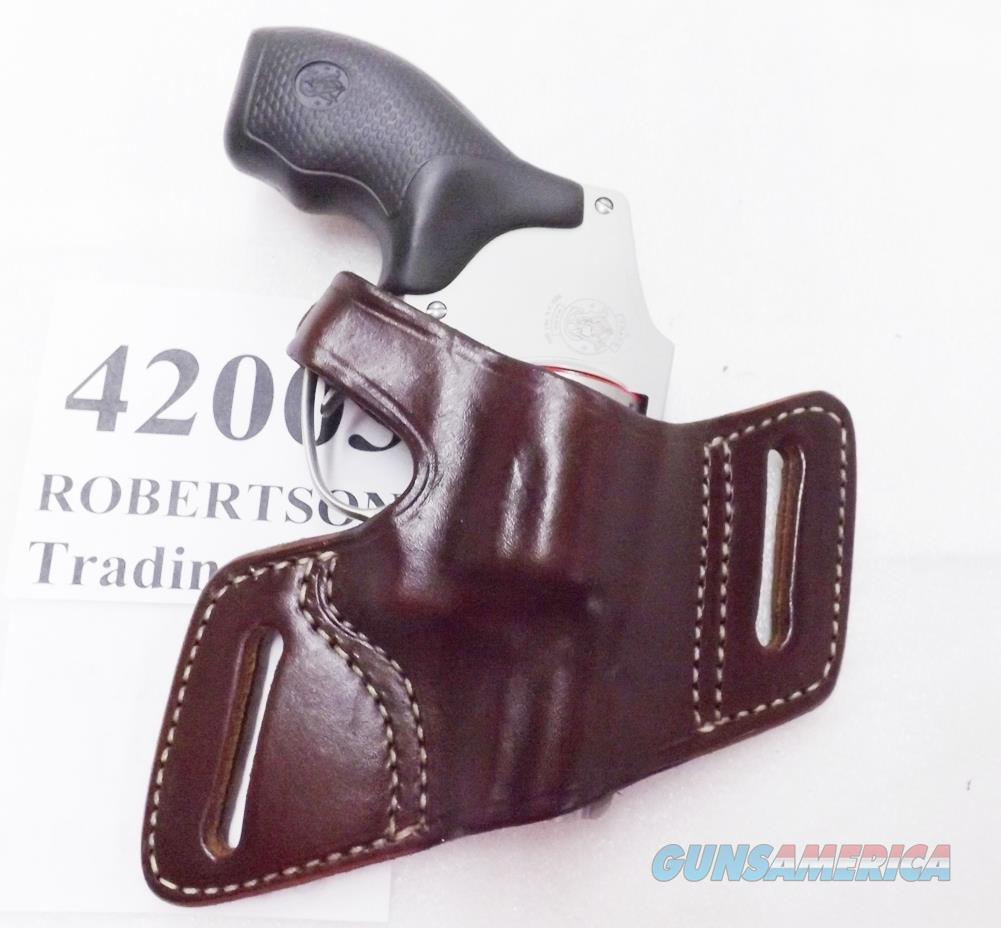 Triple K Secret Agent Leather Holster fits S&W 640 642 638 Hammerless Snubs Ruger Charter Taurus 5 Shot SP101 LCR  Non-Guns > Holsters and Gunleather > Revolver
