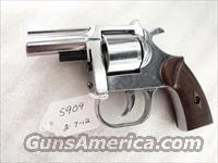 Clerke 1st .32 S&W caliber 2 1/2 inch Nickel 5 shot Clerke Technicorp Santa Monica CA mfg ca 1973 Banned in South Carolina   Guns > Pistols > FIE Pistols