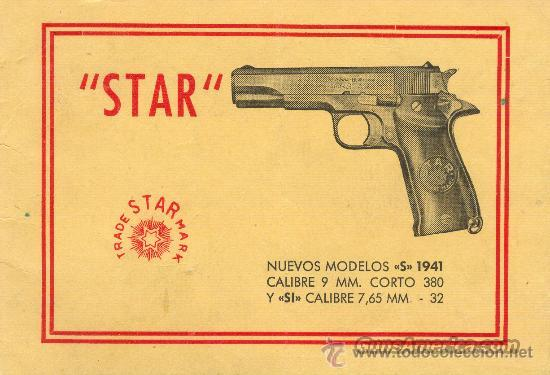 Spanish Date Codes Serialization for Star, Llama, Eibar, and Spanish Made Firearms   Non-Guns > Books & Magazines
