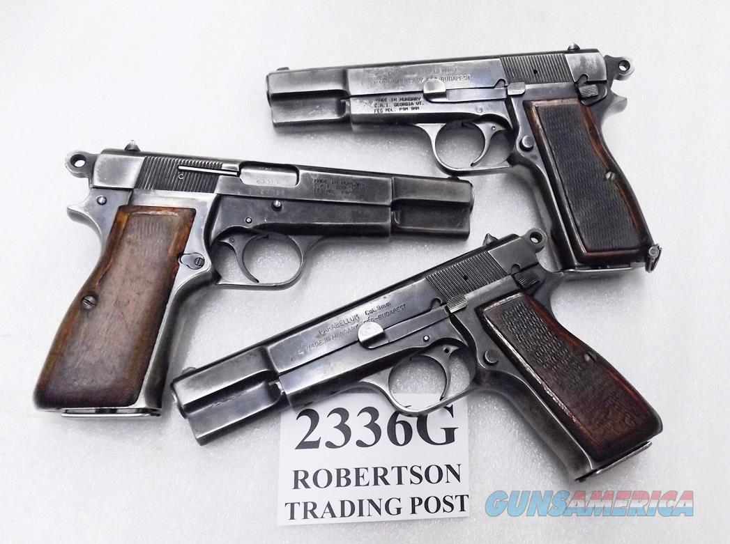 FEG 9HP P9M  Browning 1935 Hi-Power Type Israeli Mishteret Issue Century Arms Import Good 14 round 1 Magazine   Guns > Pistols > FEG Pistols