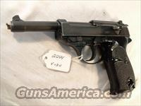 Walther 9mm P-38 Lightweight Parkerized VG 1959 P38 Federal German Police Bundespolizei C&R OK CA OK  Walther Pistols > Post WWII > P38
