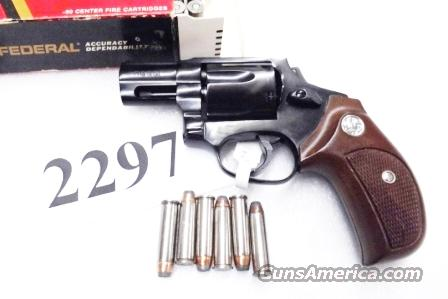Rossi .357 Magnum model 461 Blue Steel 2 inch 6 Shot DAO Bobbed Hammer Excellent in Box Factory Demo Walnut Grips Discontinued S&W K Colt D Frame type R46112U  Guns > Pistols > Rossi Revolvers