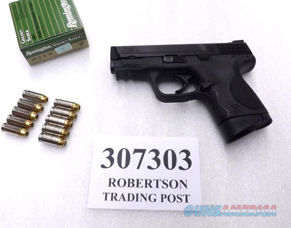 Smith & Wesson M&P40C .40 S&W Compact 15+1 Option  NIB 2 Magazines 307303 = Civilian 109303   Guns > Pistols > Smith & Wesson Pistols - Autos > Polymer Frame