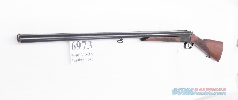 Zastava Arms 12 gauge model M75 Double Barrel 30 inch Full & Full Side by Side Shotgun Bright Blue & English type Walnut Stock 1985 Production VG Cond   Guns > Shotguns > Century International Arms - Shotguns > Shotguns