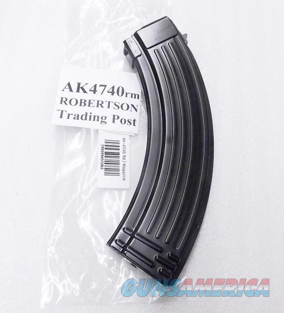AK47 Magazines 40 Round All Steel KCI Korea 7.62x39 AK Semi 76239 New Steel Teflon Finish AK4740RM Buy 3 Ships Free!   Non-Guns > Magazines & Clips > Rifle Magazines > AK Family