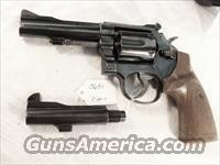 Smith & Wesson .38 Special Model 15-3 Blue 4 inch Adjustable Squibbed Barrel with Extra Replacement Barrel LA County Sheriff 1970  Guns > Pistols > Smith & Wesson Revolvers > Full Frame Revolver