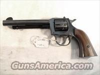 H&R .22 LR model 949 Blue Steel 5 1/2 VG 1971 Harrington & Richardson Double Action Western Cowboy Style 9 Shot 22 Long Rifle Caliber  Guns > Pistols > Harrington & Richardson Pistols