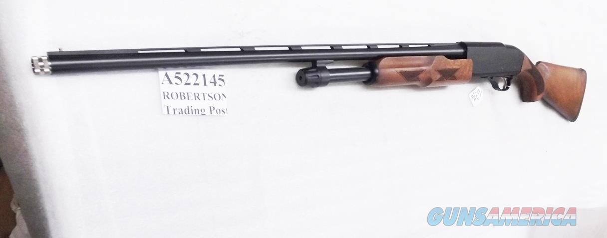 Akkar  28 gauge Model 300 Pump 26 inch Blue & Walnut Vent Rib Barrel 33143 or P522145 Mobil Choke 1 Tube Mod Unfired in Orig Box 2010 Production    Guns > Shotguns > AKKAR