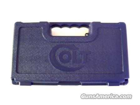 Colt Factory Blue Box Plastic Case New 1911 & Similar SASP94749  Non-Guns > Gun Cases