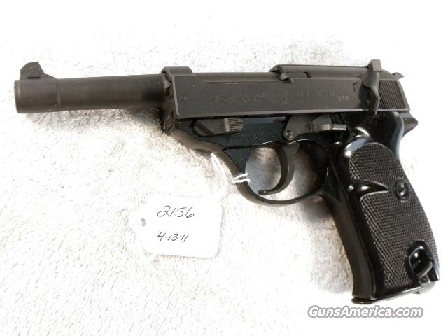 Walther 9mm P-38 Parkerized Lightweight VG-Exc 1966 Federal German Police Bundespolizei P1 P38  Guns > Pistols > Walther Pistols > Post WWII > P38