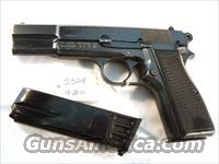 FN Browning 9mm Hi-Power Israeli Very Good 1961 w/2 Magazines High Power HiPower Fabrique Nationale Belgium Belgian  Browning Pistols > Hi Power