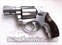 Smith & Wesson .38 Special model 60-7 Stainless 2 inch Snub 5 Shot 38 Spl 1991 2nd Year Heat Treated True J Frame Satin Hammer & Trigger   Guns > Pistols > Smith & Wesson Revolvers > Pocket Pistols
