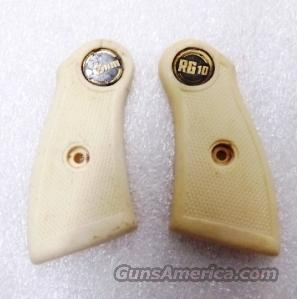 RG10 Factory White Grips Rohm Eig Revolvers 1960s Production Good Condition  Non-Guns > Gunstocks, Grips & Wood