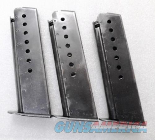 Walther P38 9mm Factory German 8 round Magazines 2178508 German Federal Police 1970s Good-VG Condition P1 Buy 3 Ships Free!   Non-Guns > Magazines & Clips > Pistol Magazines > Other