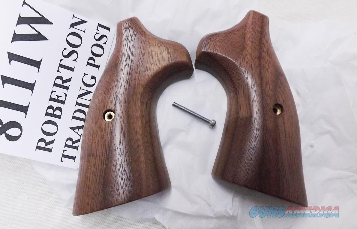 Taurus 44, 65, 66, 80, 82, 83, 96, 431, 441, 607, 669, & 689 Revolvers Herretts Smooth Walnut Grips Stocks 8111W Speedloader Compatible    Non-Guns > Gun Parts > Grips > Other