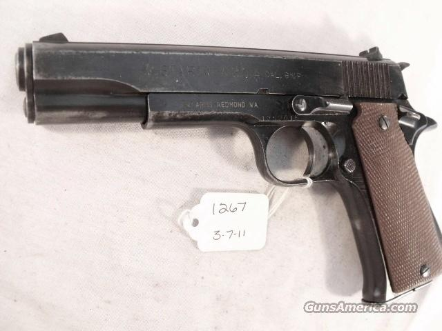 Star Spain 9mm Model B Super Israeli Police 1973 Colt Government Type  Guns > Pistols > Star Pistols