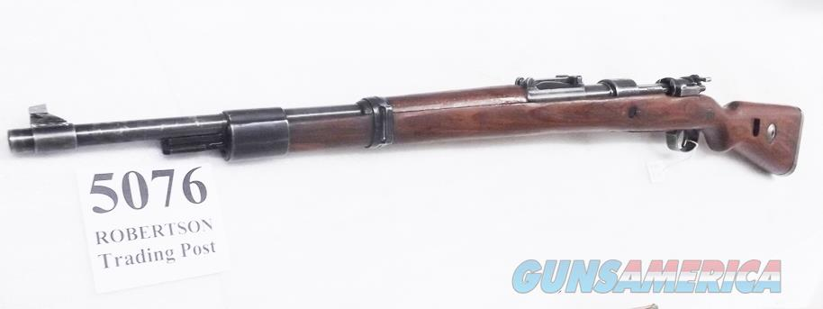 German 98K Mauser 8mm WWII Yugo Repo 98/48 VG C&R OK Exc Bore 4 Waffenamts & Mod. 98 Stamp Laminated Stock Matching Bolt Receiver Cartouche Renumbers Mismatch Lever, Band & Floorplate  Guns > Rifles > Mauser Rifles > German